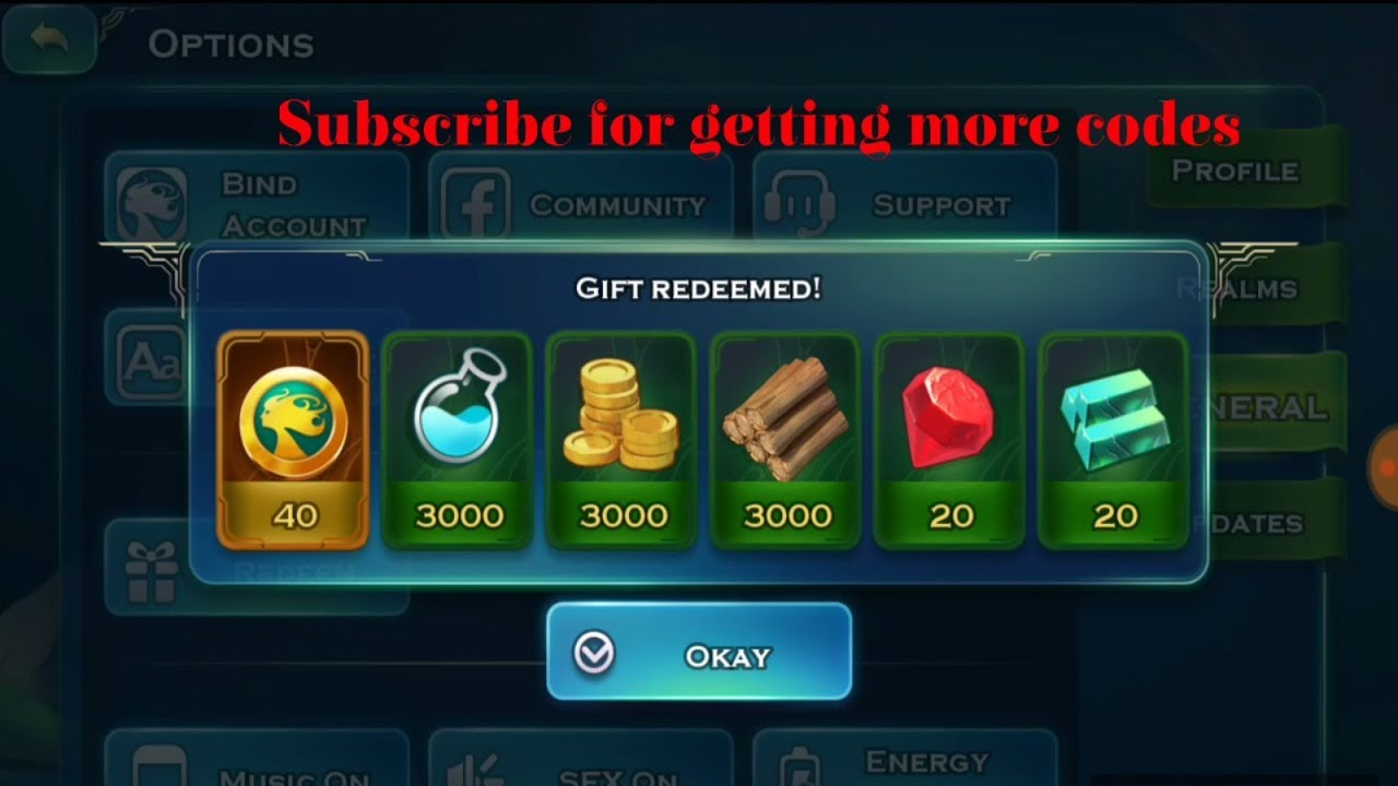 Code Art of Conquest New Redeem Code April 17 2018 - YouTube