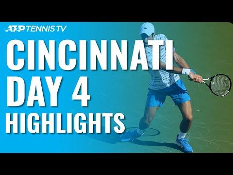 Rublev Stuns Federer; Djokovic Sails | Cincinnati 2019 Day 4 Highlights