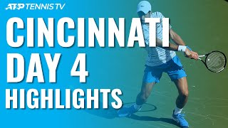 Rublev Stuns Federer; Djokovic Sails | Cincinnati 2019 Day 4 Highlights