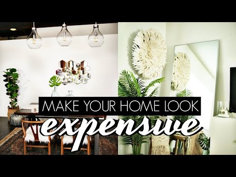 HOW TO MAKE YOUR APARTMENT LOOK EXPENSIVE ON A BUDGET (10 HACKS)