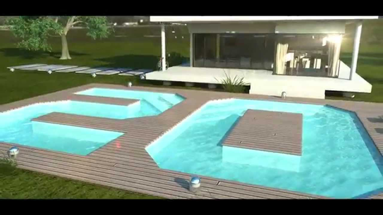 Film des 20 ans piscines magiline youtube for Piscine magiline