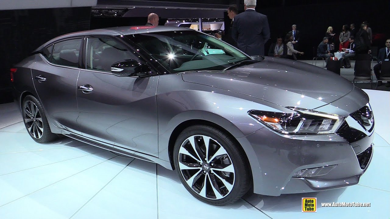 2016 Nissan Maxima SR   Exterior And Interior Walkaround   Debut At 2015  New York Auto Show   YouTube