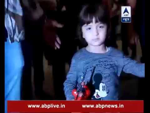 Alia Bhatt spotted with Shah Rukh Khan's son AbRam at the airport