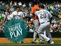 MLB 2018| Mariners Turn Triple Play