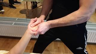 Deep Tissue Massage Part 39 Professional Tutorial course on line Londo
