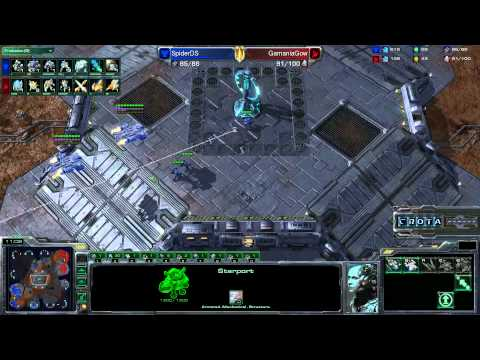StarCraft 2 - TeSL Summer 2012 Finals  - Wayi Spider DS vs Gamma Bears Gow - Game Five