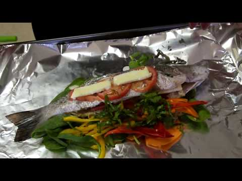 Oven Steam Fish Island Style | Healthy Fish Recipe | Weight Loss Recipe
