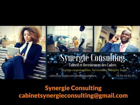 cabinet synergie consulting conseil et recrutement dom madagascar et ha ti youtube. Black Bedroom Furniture Sets. Home Design Ideas