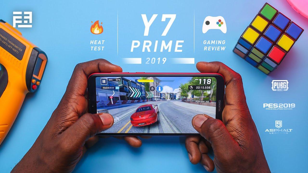 Huawei Y7 Prime 2019 ULTIMATE Gaming Review (PUBG/Asphalt 9/PES 2019) + Battery & Heating Test