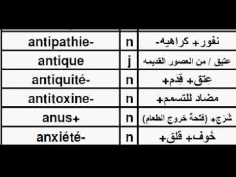 TFA01AC Dictionnaire Français Arabe, قاموس فرنسي عربي