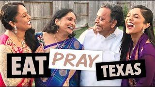 VLOG: Eat. Pray. Texas - Family, Mental Health, & BIG NEWS!!! | DEEPICA MUTYALA