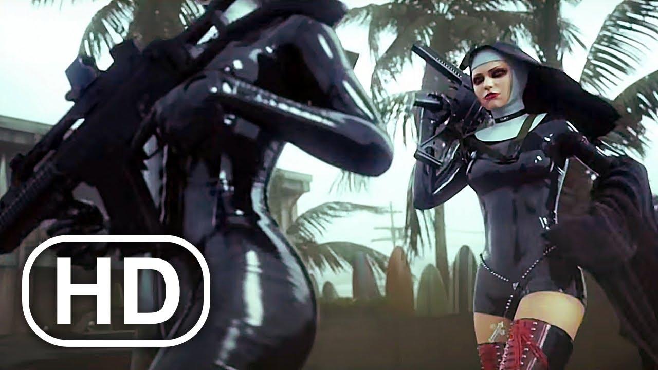 Download Nuns With Guns Vs Hitman Agent 47 Fight Scene Cinematic HD - Hitman Absolution Cinematics