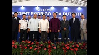 President Duterte: We would realize that China after all is a good neighbor