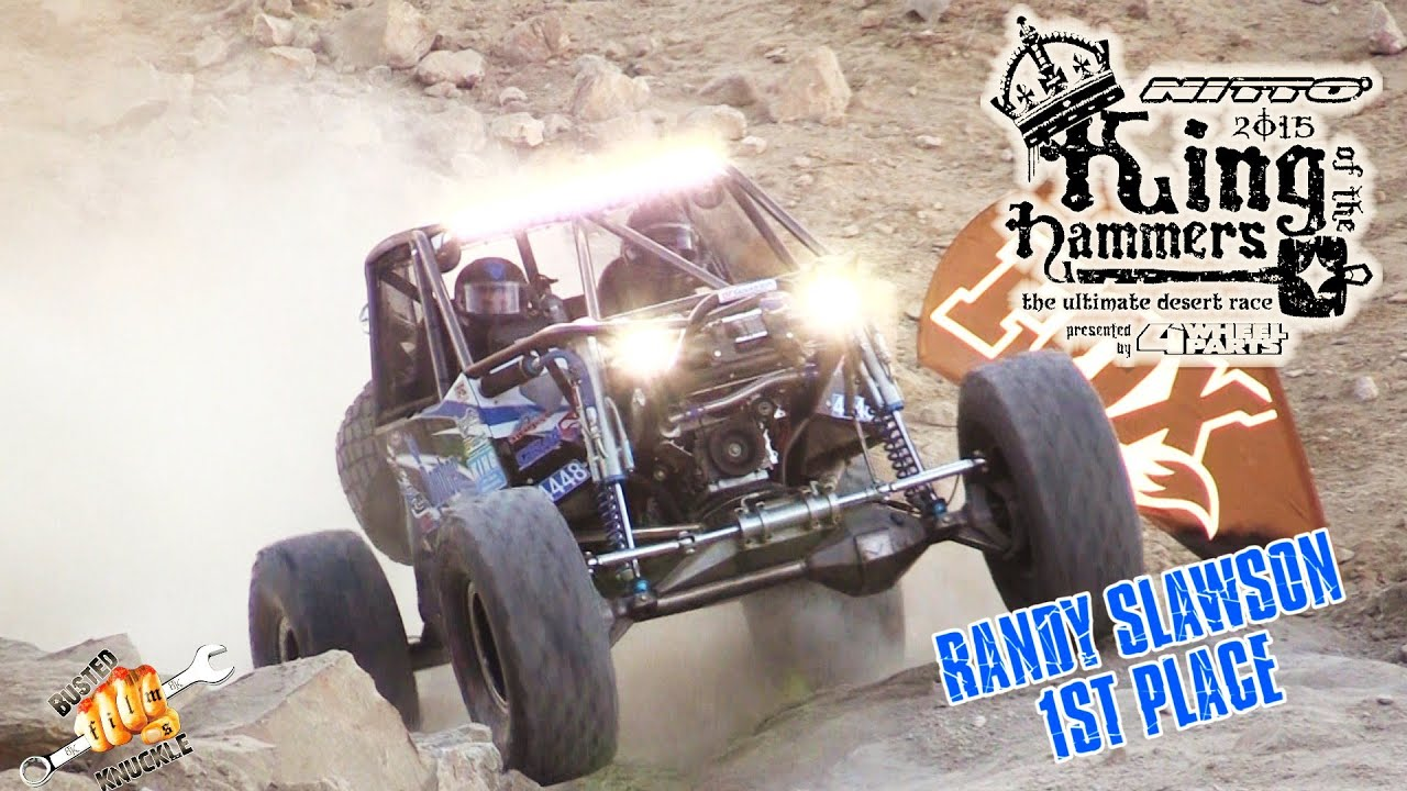 RANDY SLAWSON WINS 2015 KING OF THE HAMMERS
