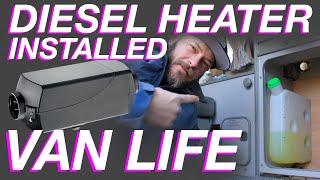Chinese Diesel Heater Install In a Volkswagen Westfalia - Living The Van Life