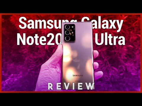 Galaxy Note20 Ultra Review - Samsung Flexes When Times Say Chill