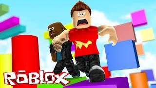 Minecraft ROBLOX - OBBY MADNESS WITH MY BABY BROTHER - donut the dog roblox
