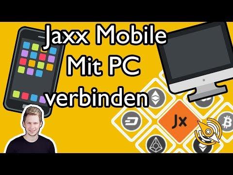 Jaxx Mobile | Verbinden Mit PC-Wallet