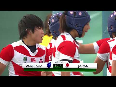 WRWC HIGHLIGHTS: Australia 29-15 Japan