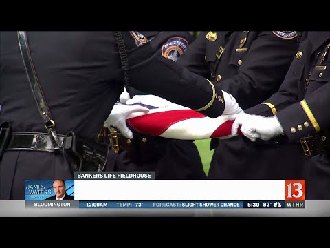 Funeral service held for Deputy Chief Waters