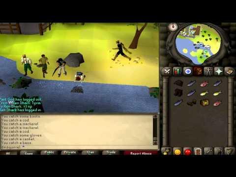 RuneScape 2007 - Big net full of fish or crap?