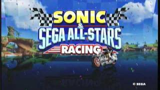 Sonic & SEGA ALL-STARS RACING with Banjo-Kazooie Demo: Banjo-Kazooie Gameplay