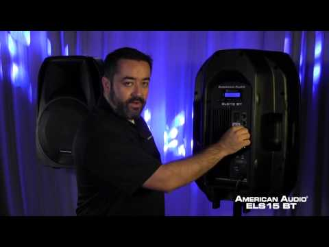 "American Audio ELS15 BT 15"" Wireless Bluetooth Speaker"
