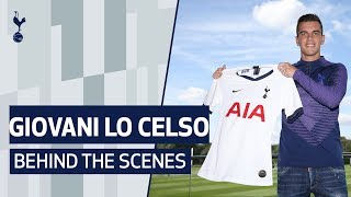 BEHIND THE SCENES | LO CELSO'S FIRST DAY