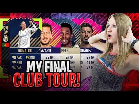 MY FINAL $10,000 FIFA 18 CLUB TOUR!!