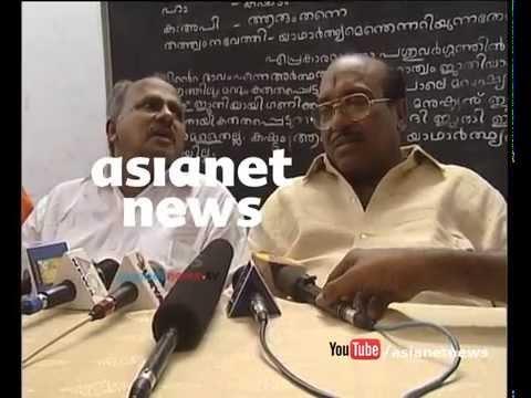 Swami Saswathikananda murder, Vellapally Natesan's  press meet :Asianet News  Archives Video