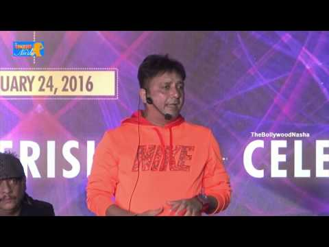 Sukhwinder Singh Performance At Subhash Ghai B'day Celebration 2016 along With Singer Adnan Sami