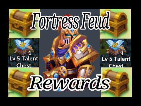 Fortress Feud Rewards Castle Clash New Update