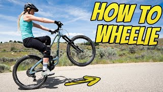 Better Wheelies In 1 Day - How To Wheelie