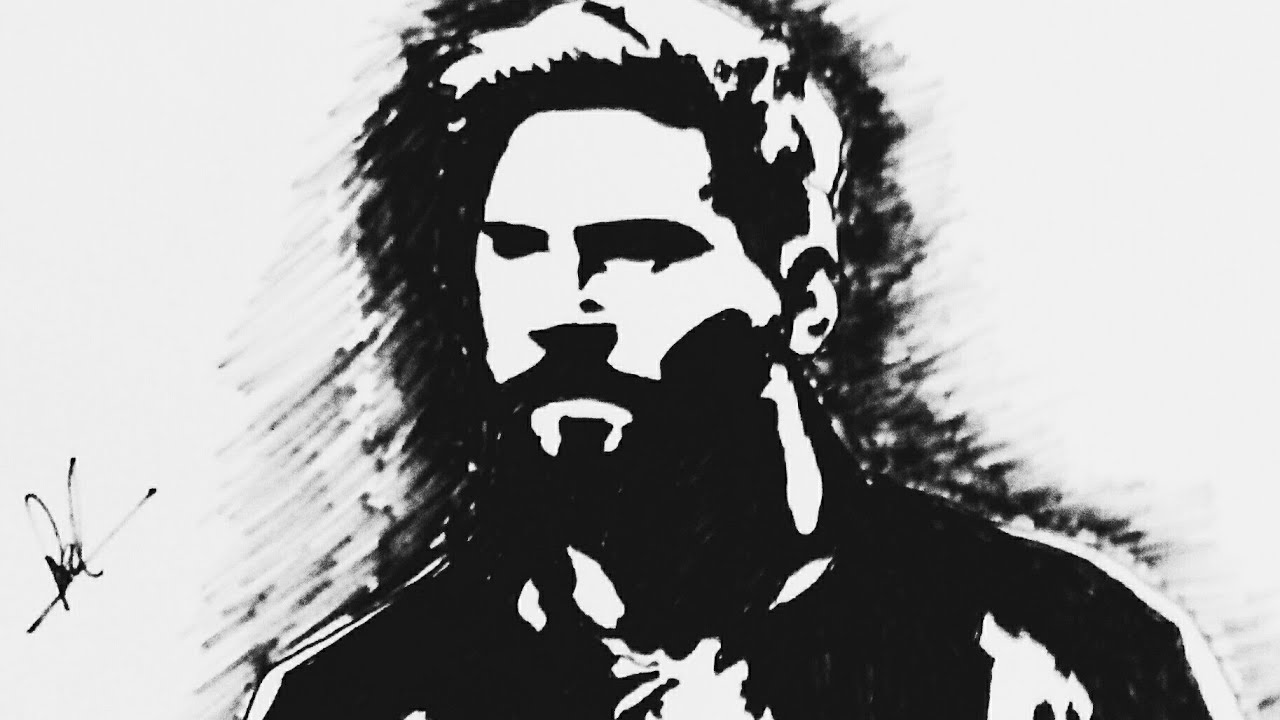 lionel messi up side down stencil art youtube