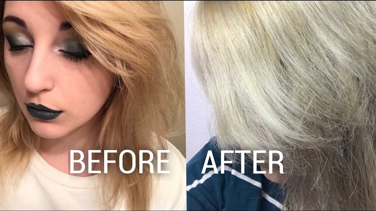 Shimmer Lights Shampoo Before And After Youtube
