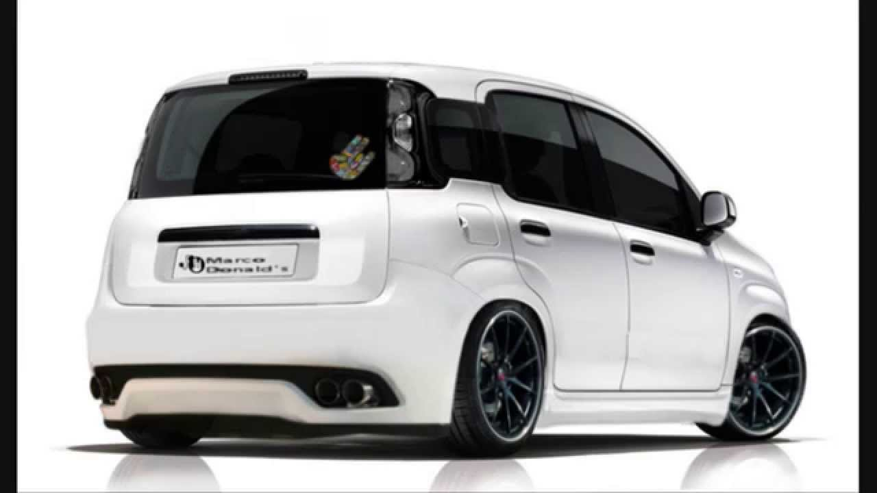 fiat panda virtual tuning youtube. Black Bedroom Furniture Sets. Home Design Ideas