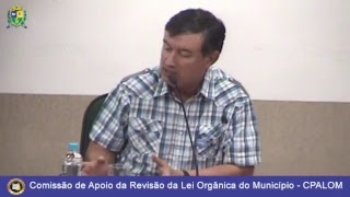 Audiência Pública - Planejamento Municipal