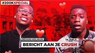 BERICHT AAN JE CRUSH! #200KSPECIAL | Amsterdam. (Met Ta Joela)