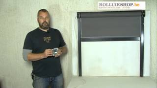 Volledig afstelling en programmering Somfy IO motor voor rolluik of screen