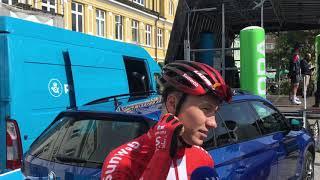 Asbjørn Kragh Andersen forud for første etape i PostNord Danmark Rundt 2019