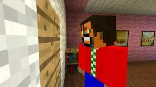 "Minecraft Movie Remakes- The Shining ""Here"