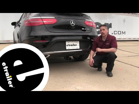 Curt Trailer Hitch Receiver Installation - 2018 Mercedes-Benz GLC-Class - etrailer.com