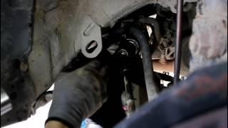 Toyota Camry XV40 Тойота Камри 2007 года  2,4 Замена пыльника рулевой рейки