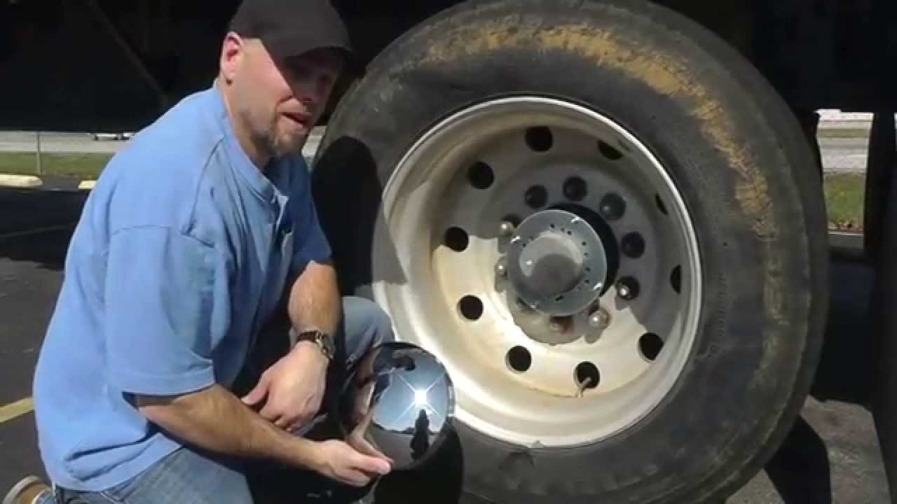 Semi Truck Hub Caps : How to know what hub cap fits your truck youtube