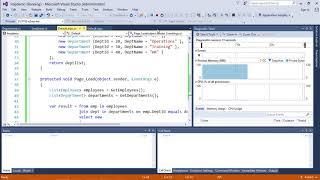 LinQ - Join Operators https://www.tutorialspoint.com/videotutorials...