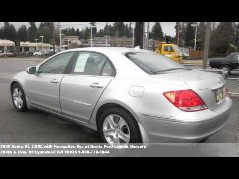 2005 acura rl 3 5rl with navigation sys for sale in lynnwood youtube. Black Bedroom Furniture Sets. Home Design Ideas