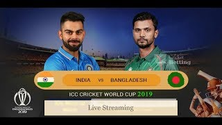 #INDIA_vs_Bangladesh #CWC19 #ICCWorldcup2019 🔴India vs South Bangladesh | TODAY MATCH ICC WORLD CUP