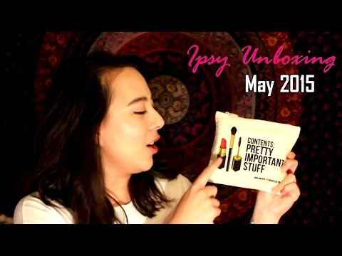 Ipsy Unboxing: May 2015 Glam Bag | Urban Decay, CoTZ, Chella, Peter Lamas, Luxie