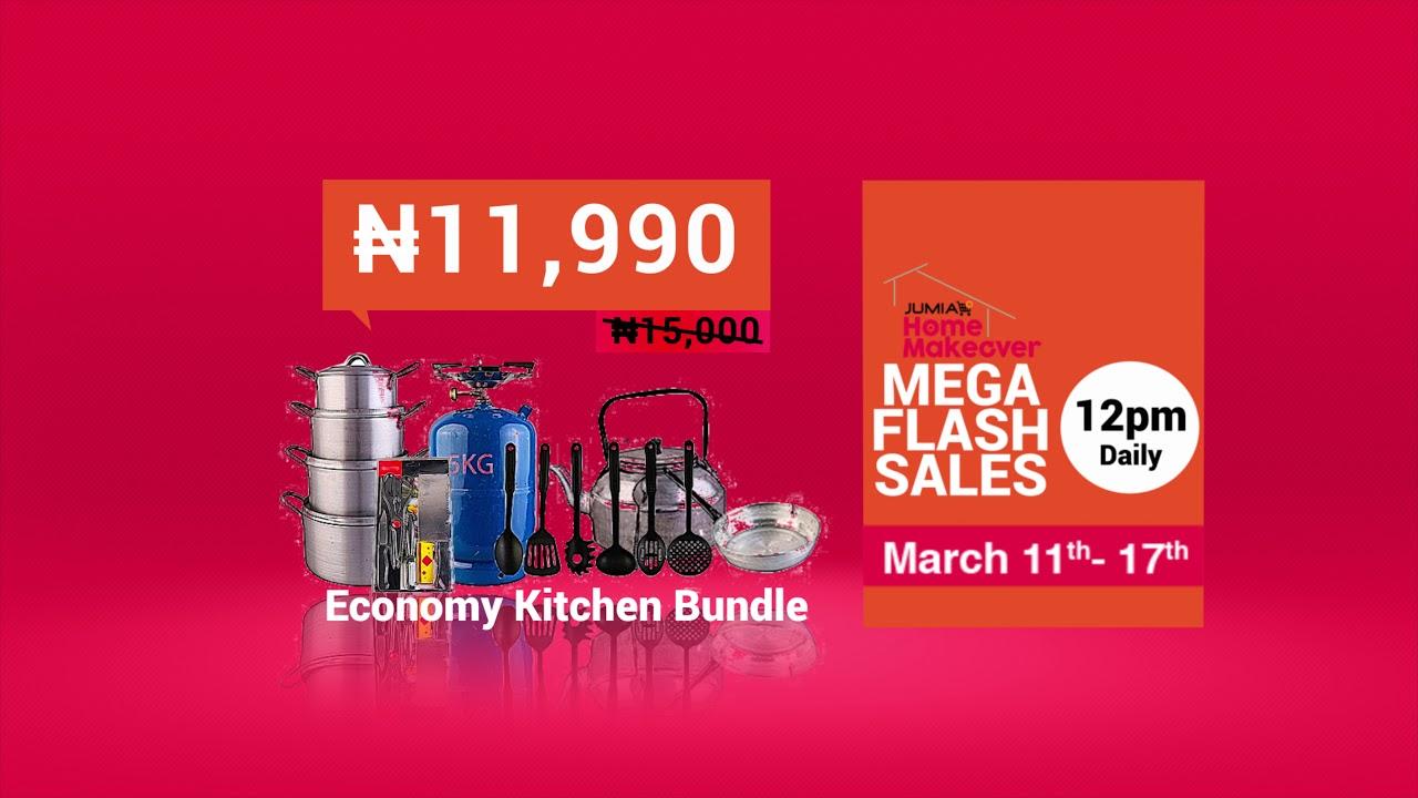 Mega Flash Sales || Home Makeover on Jumia