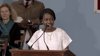 Harvard Orator Eunice Alison Nyang'or Mwabe | Harvard Commencement 2019
